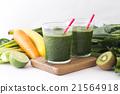綠色的榨果汁 蔬菜汁 飲料 21564918
