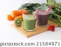 綠色的榨果汁 蔬菜汁 飲料 21564971