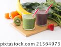 綠色的榨果汁 蔬菜汁 飲料 21564973