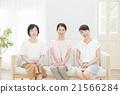 女性 坐下 坐著 21566284