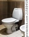 Closeup of toilet 21569459