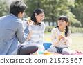 和家人一起野餐 21573867