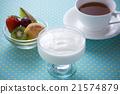 酸奶 甜點 甜品 21574879