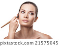 Makeup. Cosmetic. Applying Make-up 21575045
