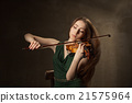 violin, woman, instrument 21575964