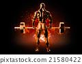 muscle,training,man 21580422