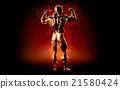 posing,muscular,man 21580424