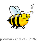 Cartoon Bee 21582197