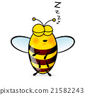Cartoon Bee 21582243