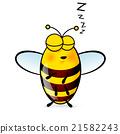 Cartoon Bee 21582243