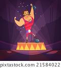 Circus Athlete Illustration  21584022