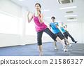 女性 有氧運動 鍛煉 21586327