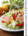 沙拉 沙律 西餐 21587401