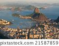 Rio de Janeiro Skyline with Sugarloaf Mountain 21587859
