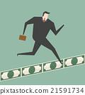 Running On Money Road 21591734