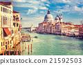 Venice at sunny evening 21592503