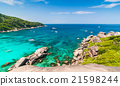 Tropical beach, Similan Islands, Thailand 21598244