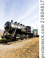 steam locomotive in Railroad Museum, Gorham, USA 21604817
