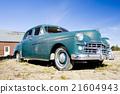 antique automobile near Alexander, Maine, USA 21604943
