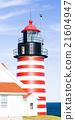 West Quoddy Head Lighthouse, Maine, USA 21604947