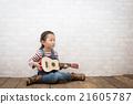 吉他 女孩們 小姑娘 21605787