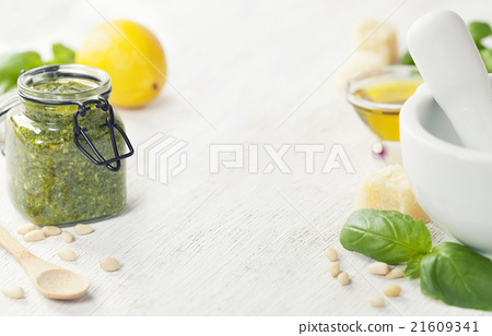 Fresh Pesto 21609341