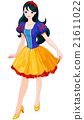 Snow White Girl 21611022