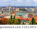 Budapest and Danube river panoramic view, Hungary 21613831
