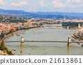 Budapest and Danube river panoramic view, Hungary 21613861