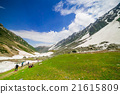 Hiking on Sonamarg mountain, Kashmir India 21615809