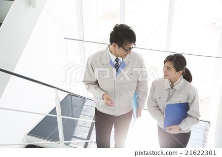 男人和女人 男女 工服 21622301