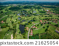 Golf course photography from the air 21625054