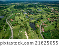 Golf course photography from the air 21625055
