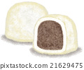 daifuku, salted red bean cake, red bean paste 21629475