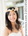 新娘 婚礼 花环 21631658