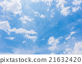 blue sky with cloud 21632420