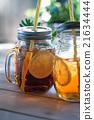 喝 飲料 冰茶 21634444