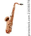 Saxophone isolated 21636079