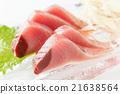 bonito, seared bonito slices, sashimi 21638564