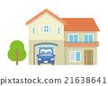Two story house 【Building · Series】 21638641