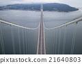 Akashi Kaikyo Bridge and Awaji Island 21640803