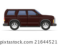 suv car vector illustration 21644521