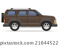 suv car vector illustration 21644522
