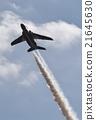 藍色衝擊波 天空 噴氣式飛機 21645630