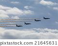 藍色衝擊波 天空 噴氣式飛機 21645631