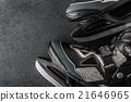 Skates on the dark background 21646965