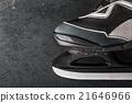Skates on the dark stone 21646966