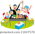 barbecue, barbecued, barbeque 21647576