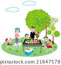 燒烤 家庭 家族 21647578