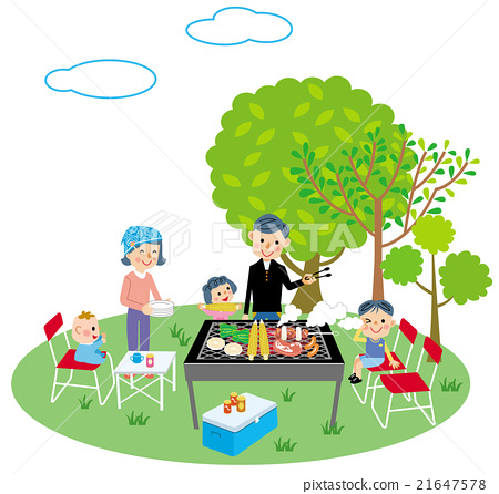 Family barbecue 21647578